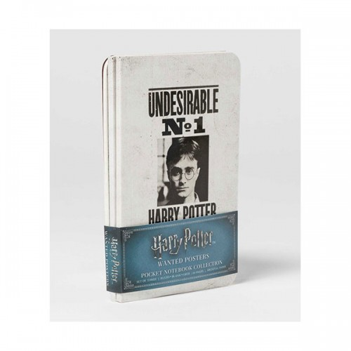 Harry Potter : Wanted Posters Pocket Notebook Collection (Paperback)