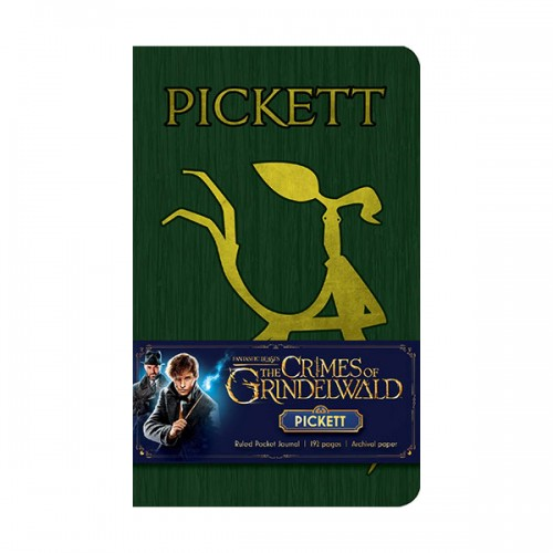 Fantastic Beasts : The Crimes of Grindelwald : Pickett Ruled Pocket Journal (Note)