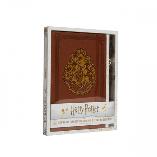 Harry Potter : Hogwarts Hardcover Journal and Elder Wand Pen Set