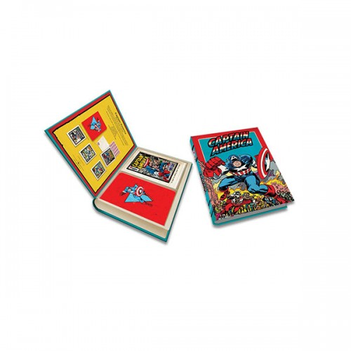 Marvel : Captain America Deluxe Note Card Set (Cards)