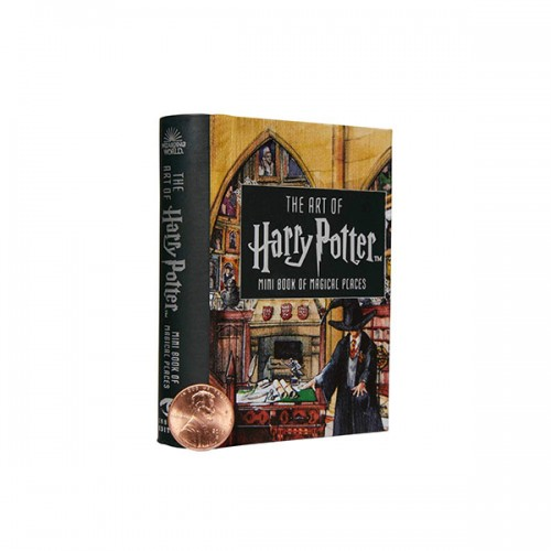 Art of Harry Potter : Mini Book of Magical Places (Hardcover)