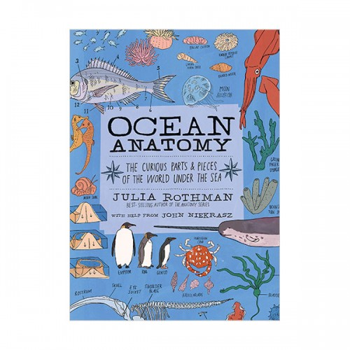 Ocean Anatomy : The Curious Parts & Pieces of the World under the Sea (Paperback)