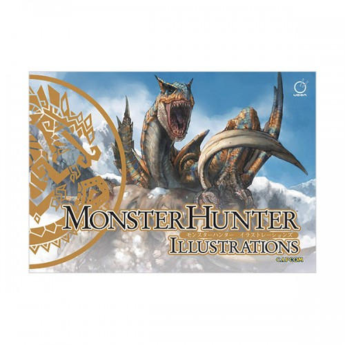 Monster Hunter Illustrations (Hardcover)