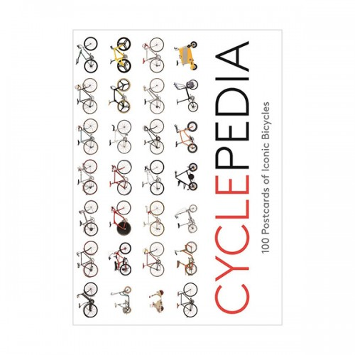 Cyclepedia: 100 Postcards of Iconic Bicycles (Postcard, 영국판)
