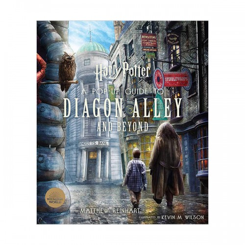 [가격인하] Harry Potter : A Pop-Up Guide to Diagon Alley and Beyond (Hardcover)
