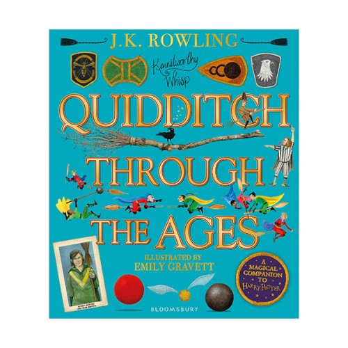 Harry Potter : Quidditch Through the Ages - Illustrated Edition (Hardcover, 영국판)
