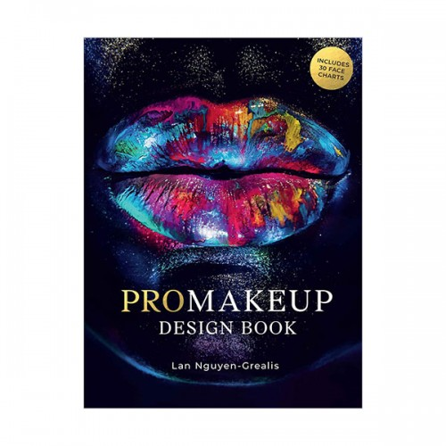 ProMakeup Design Book : Includes 30 Face Charts (Paperback, 영국판)