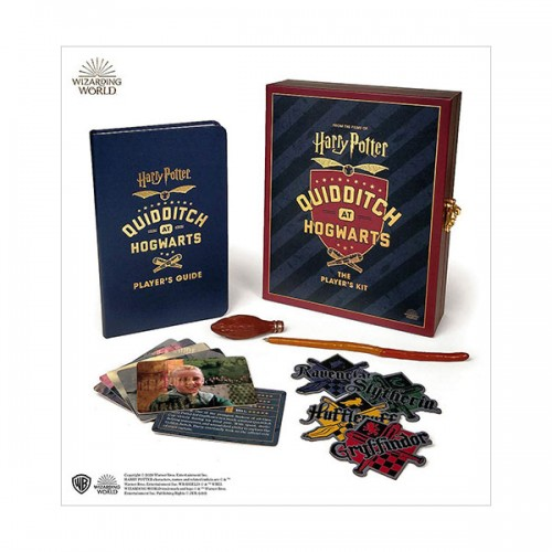 Harry Potter Quidditch at Hogwarts : The Player's Kit (Paperback+Miniature)