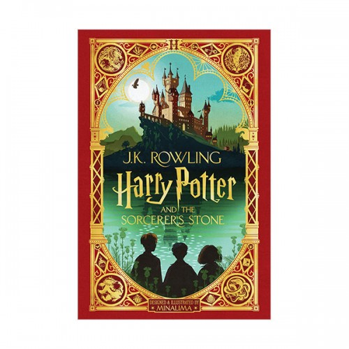 [스콜라스틱][포스터증정] Harry Potter and the Sorcerer's Stone : MinaLima Edition (Hardcover, 미국판)