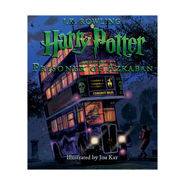[일러스트판/미국판] 해리포터 #03 : Harry Potter and the Prisoner of Azkaban (Hardcover, 풀컬러)