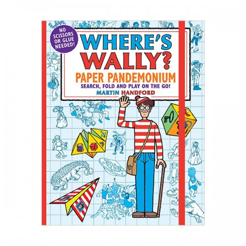Where's Wally? Paper Pandemonium (Paperback, 영국판)