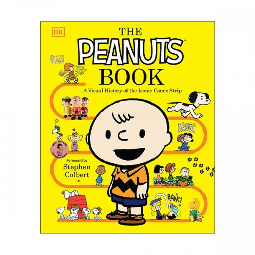 The Peanuts Book : A Visual History of the Iconic Comic Strip (Hardcover)