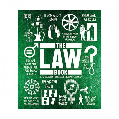 Big Ideas Simply Explained : The Law Book (Hardcover)