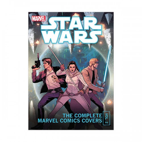 Star Wars : The Complete Marvel Comics Covers Mini Book, Vol. 2 (Hardcover)