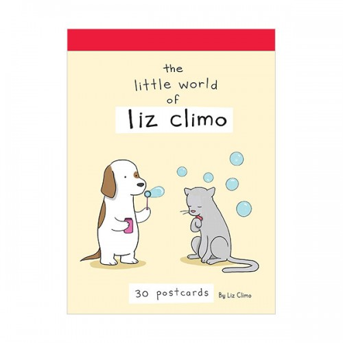 The Little World of Liz Climo Postcard Book (Card)