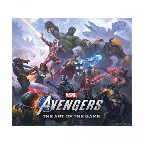 Marvel's Avengers : The Art of the Game (Hardcover)