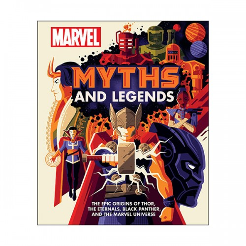 Marvel Myths and Legends (Hardcover, 영국판)