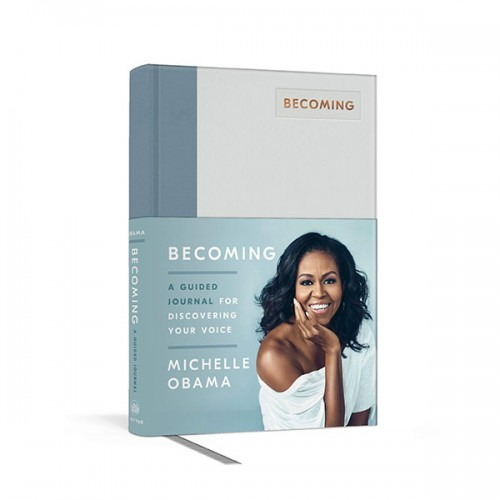 Becoming : A Guided Journal for Discovering Your Voice (Hardcover)