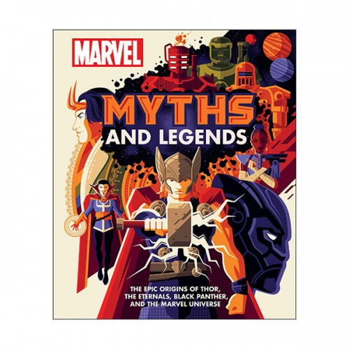Marvel Myths and Legends  (Hardcover, 미국판)