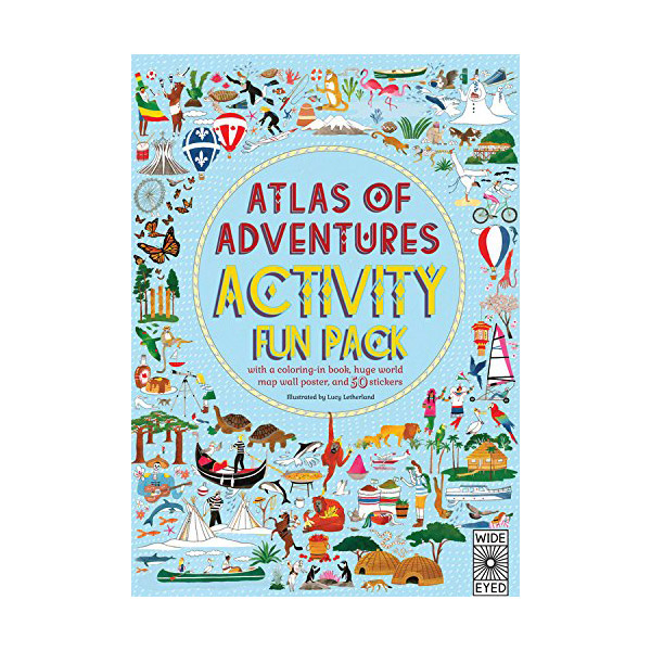 Atlas of Adventures Activity Fun Pack (Paperback)