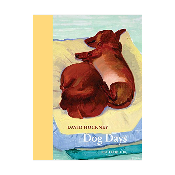 David Hockney Dog Days : Sketchbook (Paperback, 영국판)