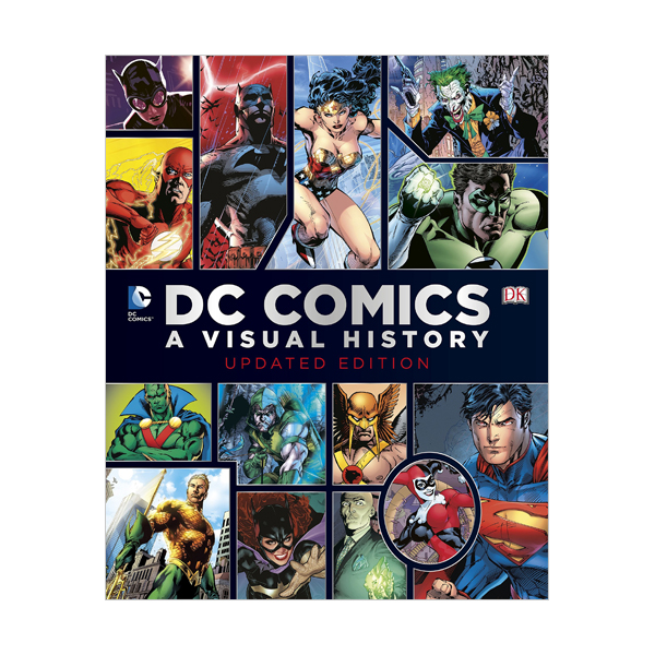 DC Comics : A Visual History (Hardcover)