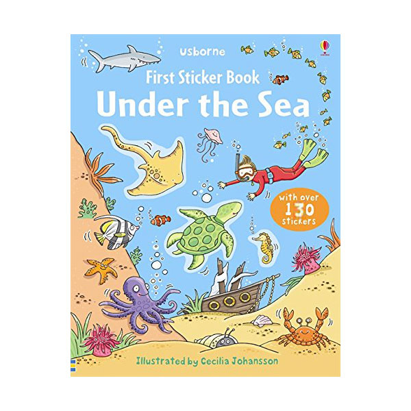 First Sticker Book : Under the Sea (Paperback, 영국판)