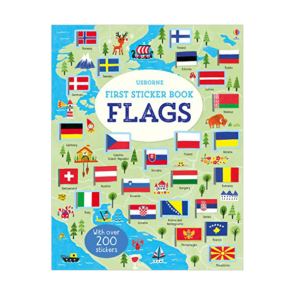 First Sticker Book Flags (Paperback, 영국판)