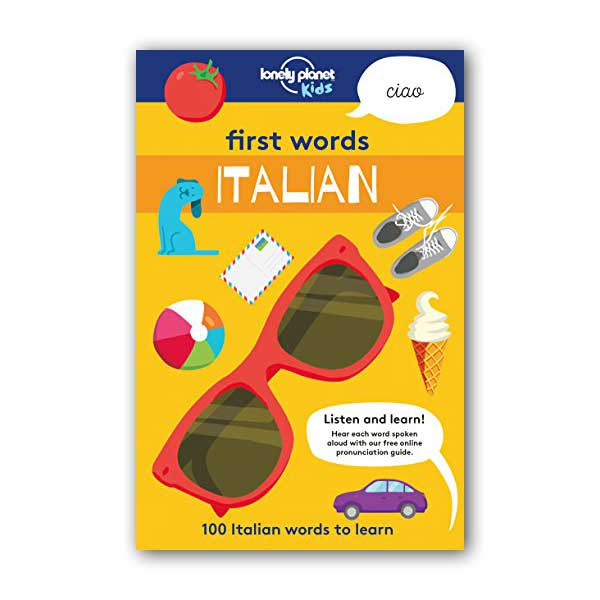 First Words - Italian : 100 Italian words to learn (Paperback)