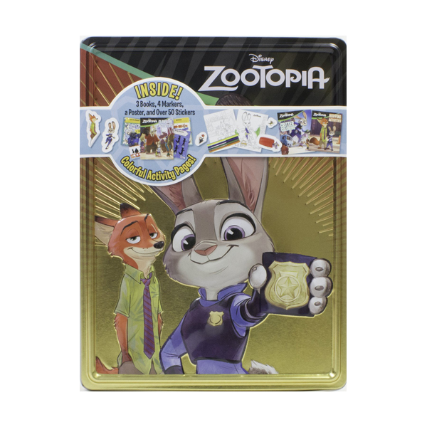 Happy Tin : Zootopia (Happy Tin)