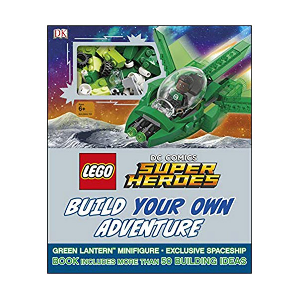 LEGO DC Comics Super Heroes Build Your Own Adventure (Hardcover, 영국판)