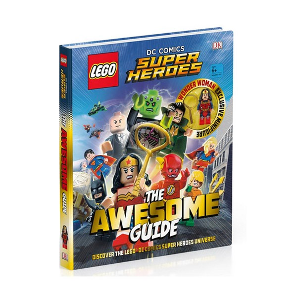 LEGO® DC Comics Super Heroes The Awesome Guide (Hardcover)