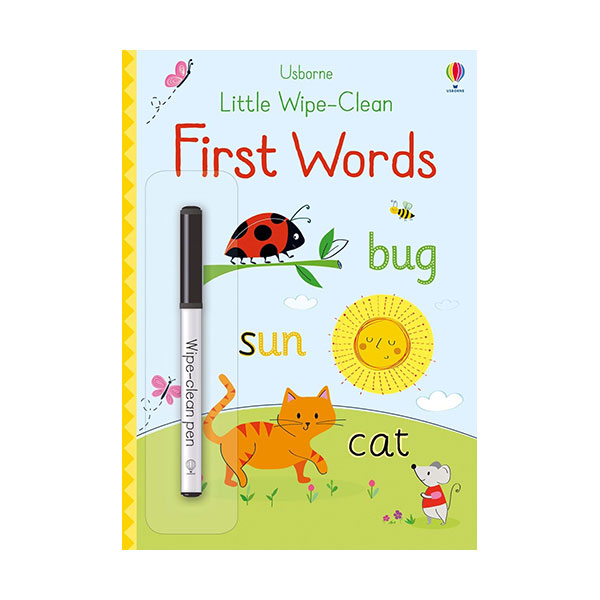 Little Wipe-Clean : First Words (Paperback, 영국판)