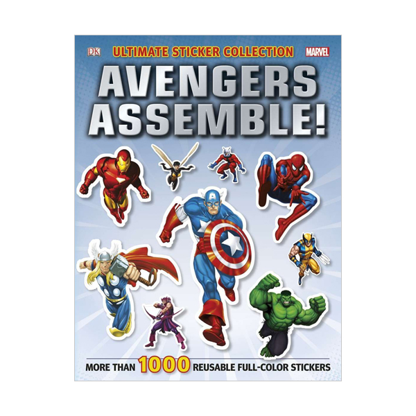 Marvel Avengers Ultimate Sticker Collection : Avengers Assemble! (Paperback)