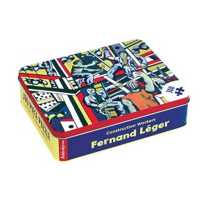 Mudpuppy Fernand Leger Construction Workers 300 Piece Puzzle (Tin Box)