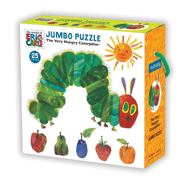 ★키즈코믹콘★Mudpuppy Very Hungry Caterpillar Jumbo Puzzle Jigsaw (Puzzle)