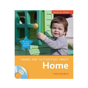 Musical Steps : Song and Activities About : Homes (Book & CD)