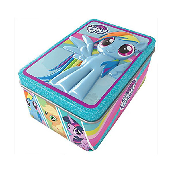 My Little Pony 3D Jigsaw Tin (Paperback)
