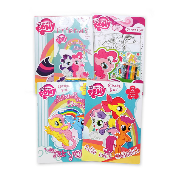 My Little Pony Activity Collection - 4 Books (Paperback)