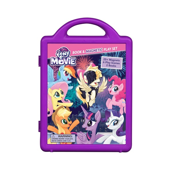 My Little Pony the Movie : Book and Magnetic Play Set