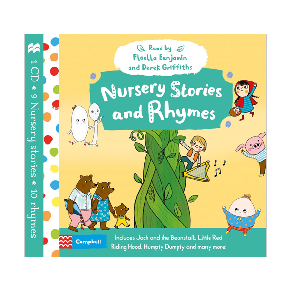 Nursery Stories and Rhymes Audio (Audio CD, 영국판)