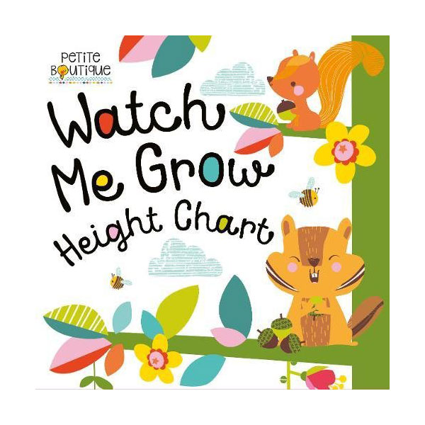 Petite Boutique : Watch Me Grow! Height Chart (Paperback, 영국판)