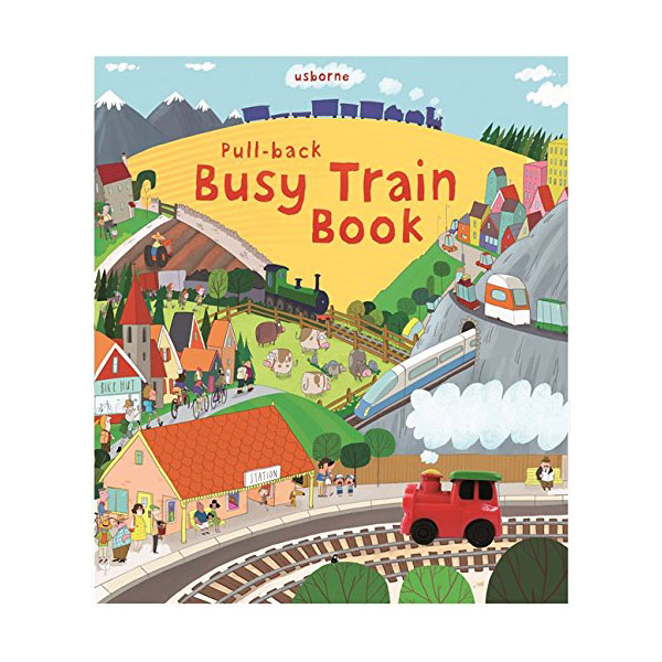Pull-Back Busy Train (Hardcover, 영국판)