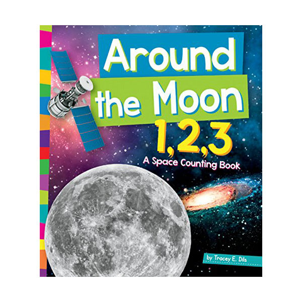 RL 1.6 : Around the Moon 1,2,3: A Space Counting Book (Paperback)