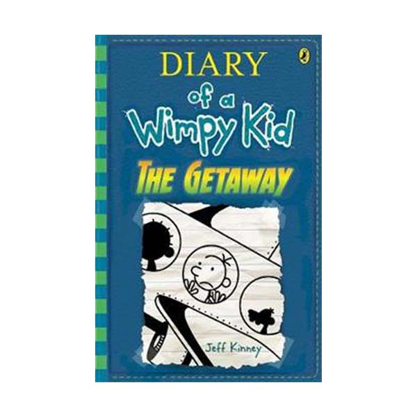 RL 5.4 : Diary of a Wimpy Kid #12 : The Getaway (Paperback)