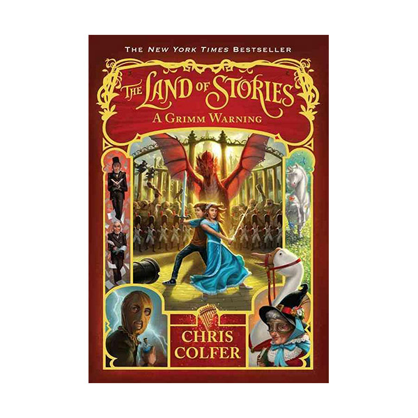 RL 5.8 : The Land of Stories #3 : A Grimm Warning (Paperback)