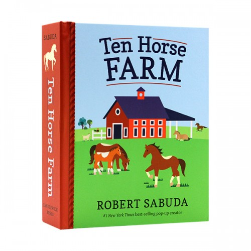 Robert Sabuda : Ten Horse Farm (Hardcover, Pop-Up)