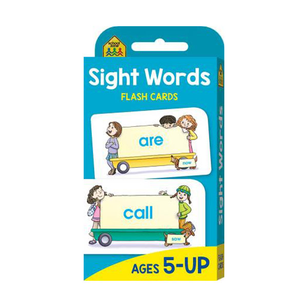 School Zone Beginning Sight Words Flash Cards (Paperback)