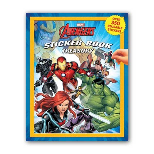 Sticker Book Treasury : Marvel Infinity Wars (Paperback)