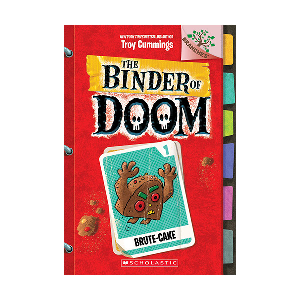 The Binder of Doom #01 : Brute-Cake (A Branches Book)(Paperback)